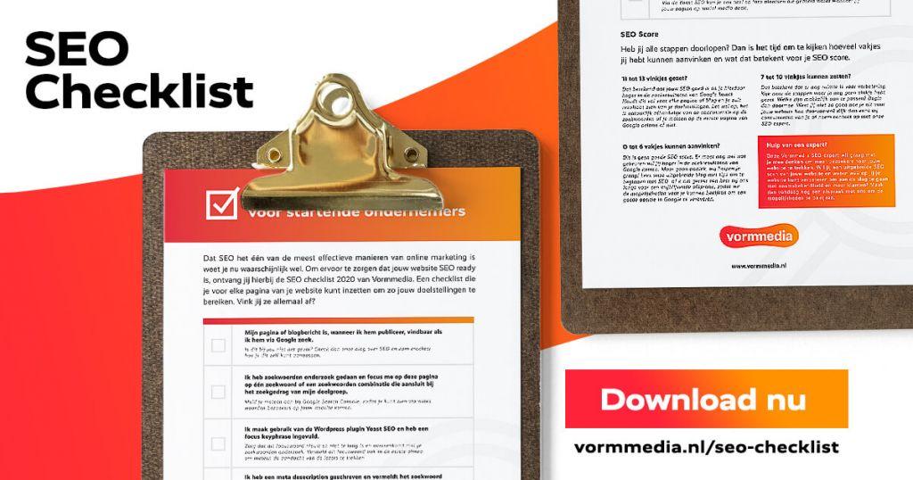 SEO Checklist Vormmedia